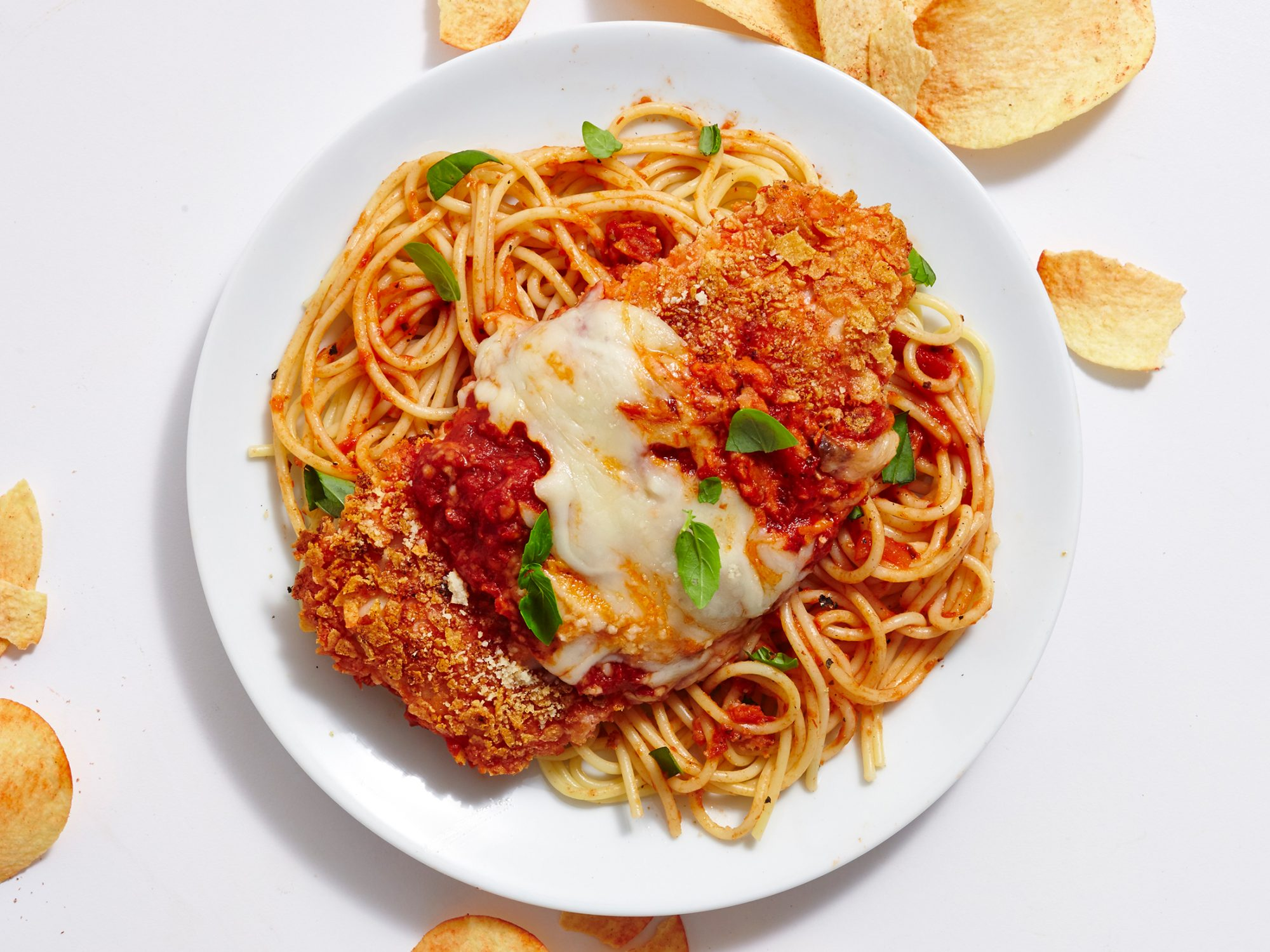 Pizza Pringles Chicken Parmesan image