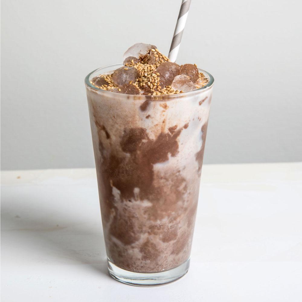 Iced Tahini Mocha