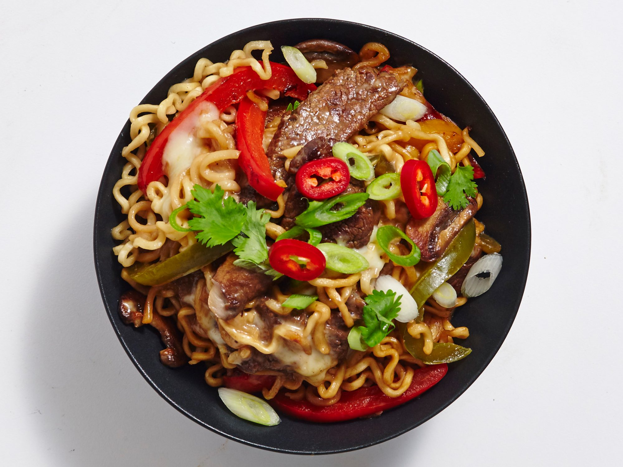 Teriyaki Cheesesteak Ramen image