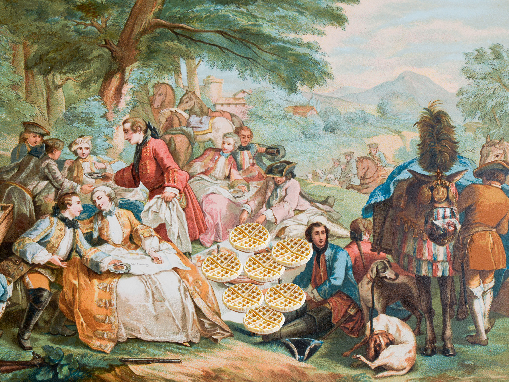 Early Americans Threw 'Waffle Frolic' Parties to Celebrate Their Love of Waffles