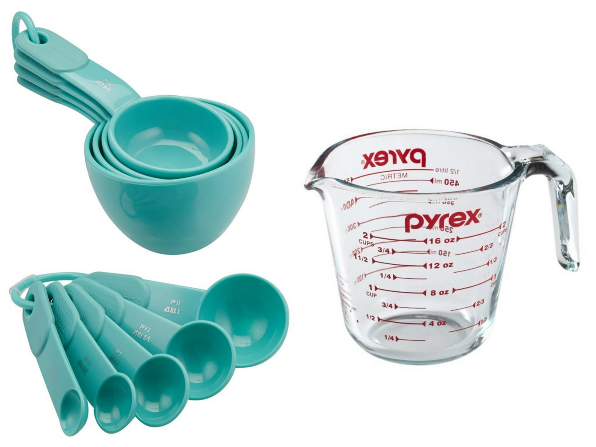 Dry vs Liquid Measuring Cups
