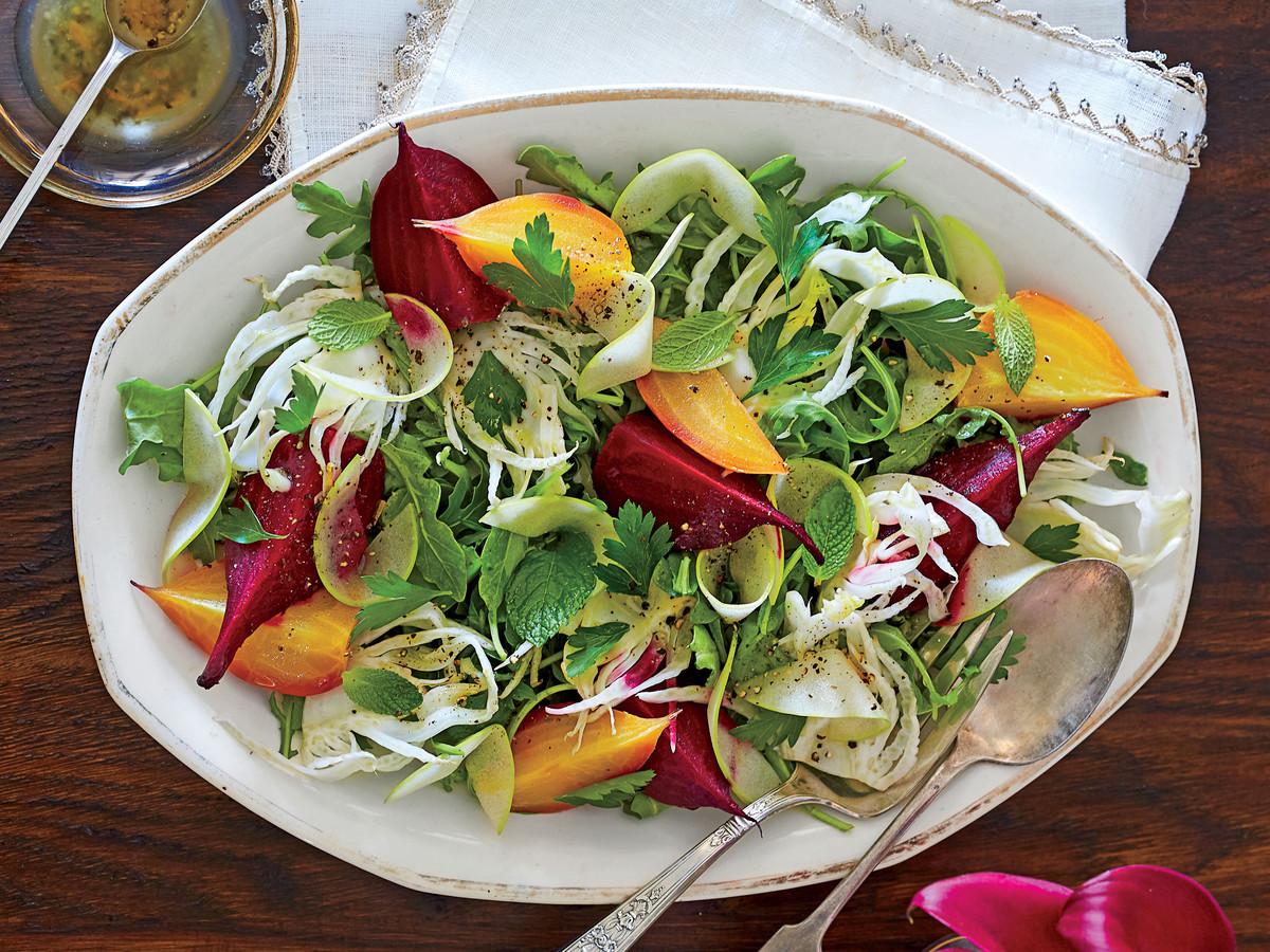 Beet, Fennel, and Apple Salad