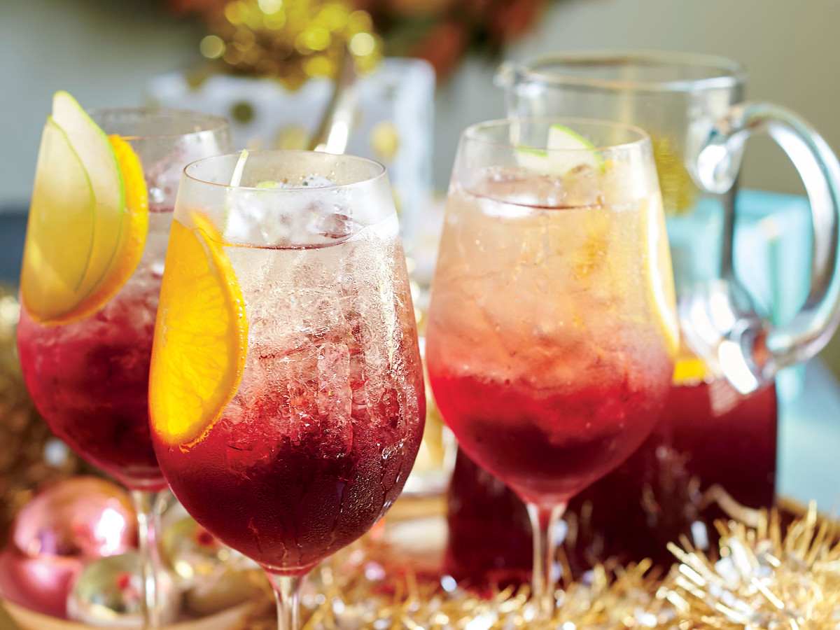 Cranberry Sangría Punch