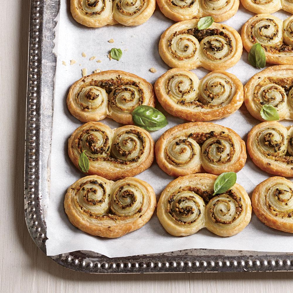 Pesto Pastries
