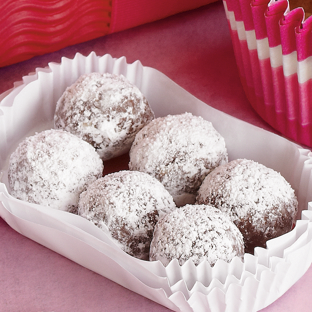 Bourbon Balls Recipe | MyRecipes.com