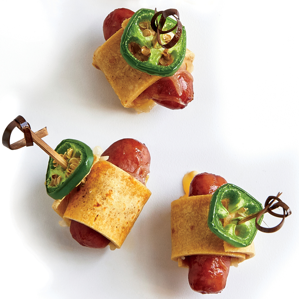 Cheesy Sausage Roll-Ups