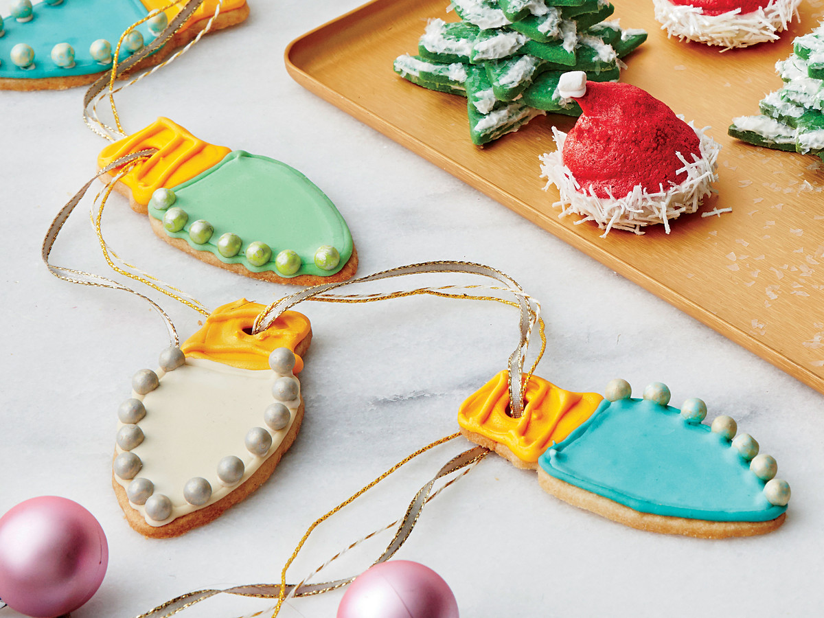 Light Bulb Sugar Cookies