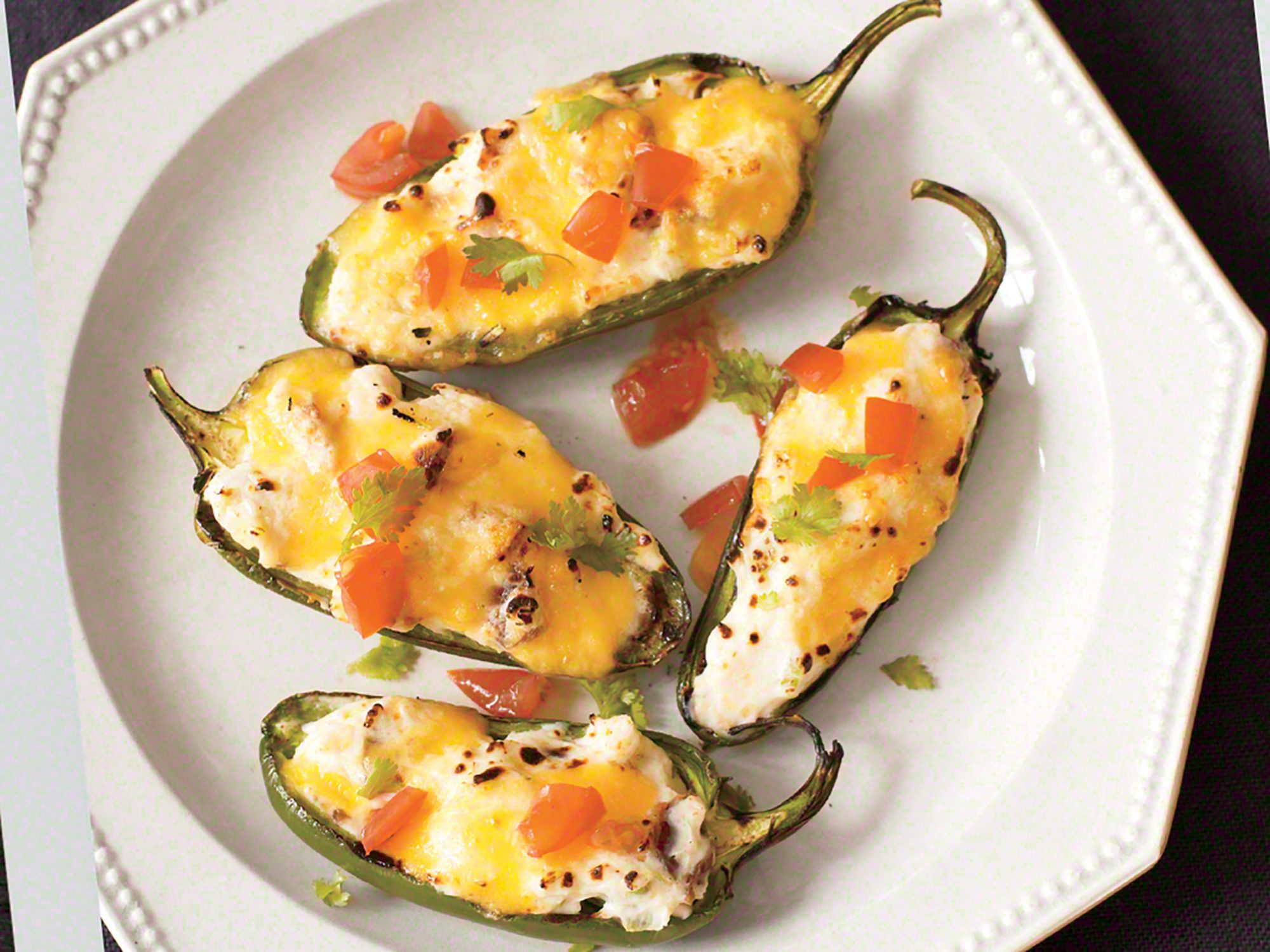 Grilled Stuffed Jalapeños