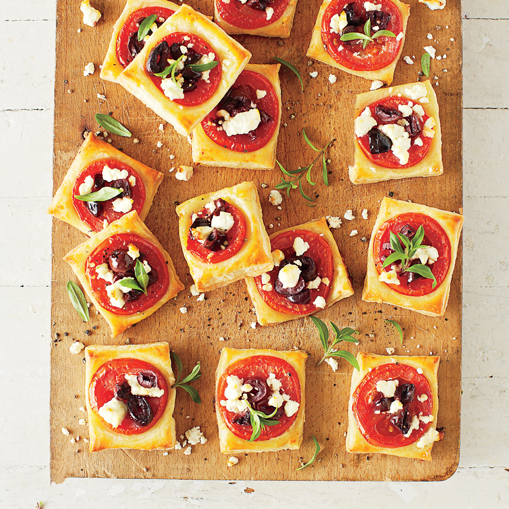 Tomato-Feta Bites