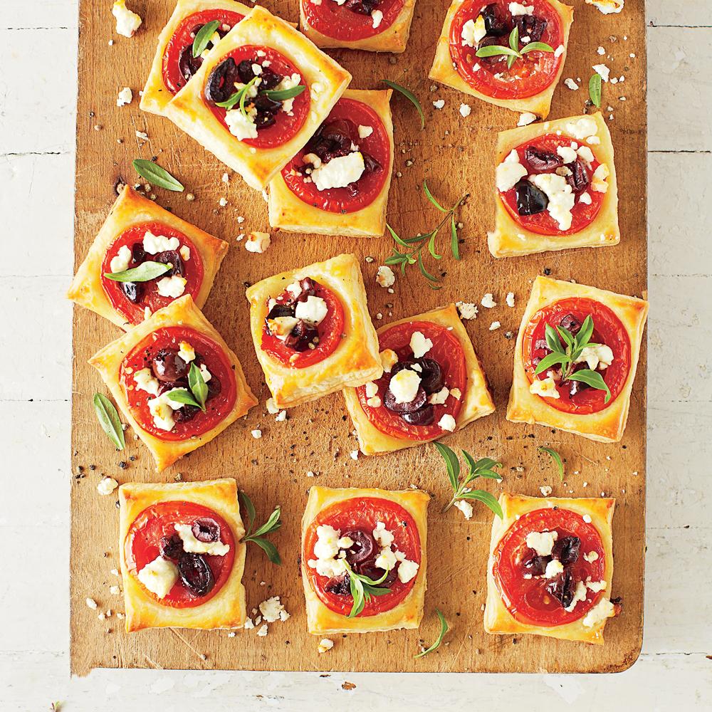 Tomato-Feta Bites Recipe