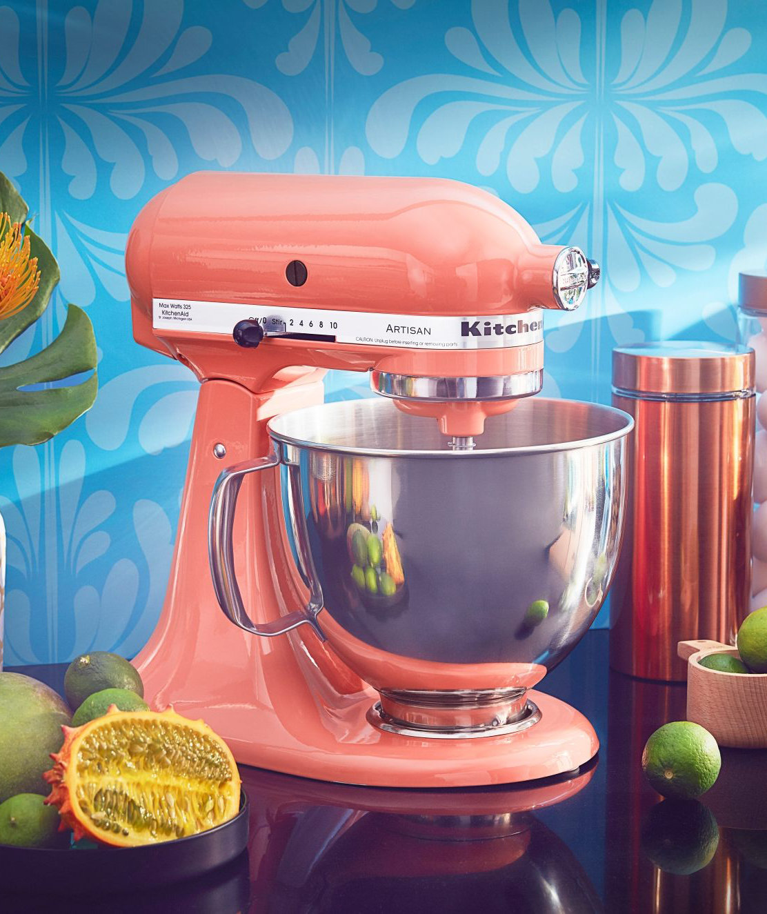 New Appliances in the KitchenAid 2018 Color of The Year Just Dropped