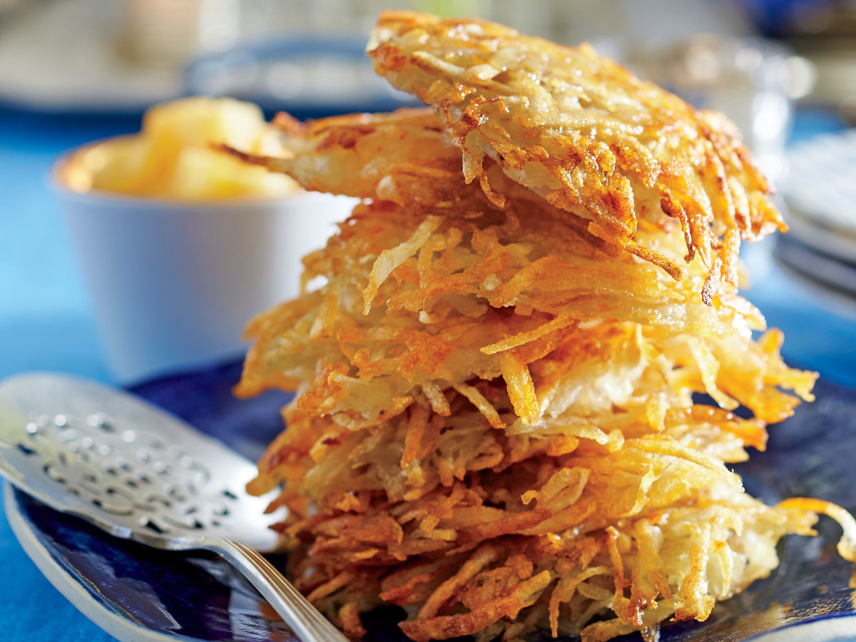 The Key to Making Perfect Latkes