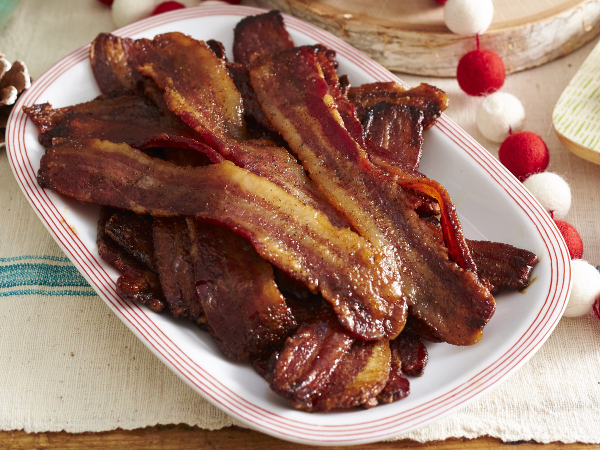 Sweet-and-Spicy Sheet Pan Bacon