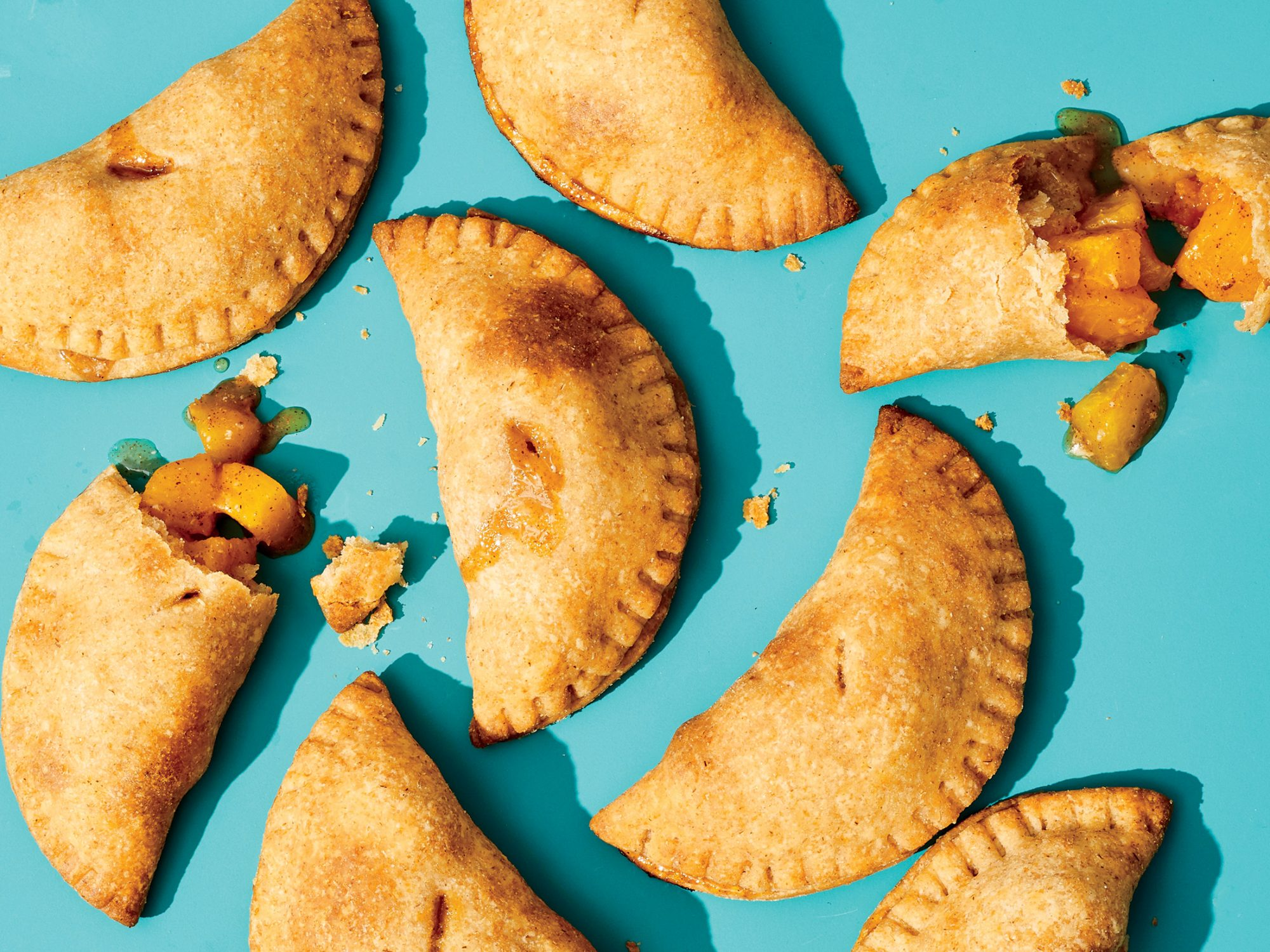 5-Ingredient Easy Peach Hand Pies