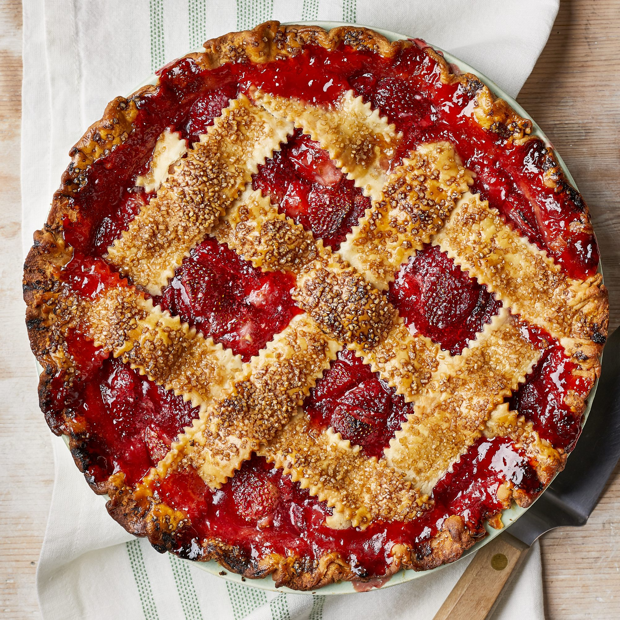 Perfect Strawberry Pie image