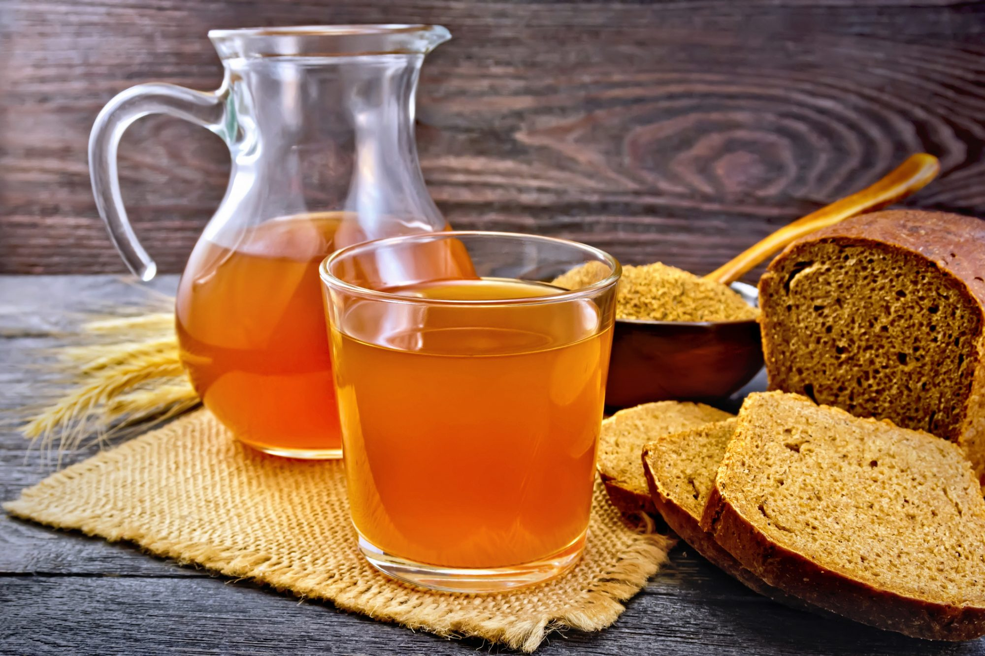 The best recipes of kvass from black bread 12