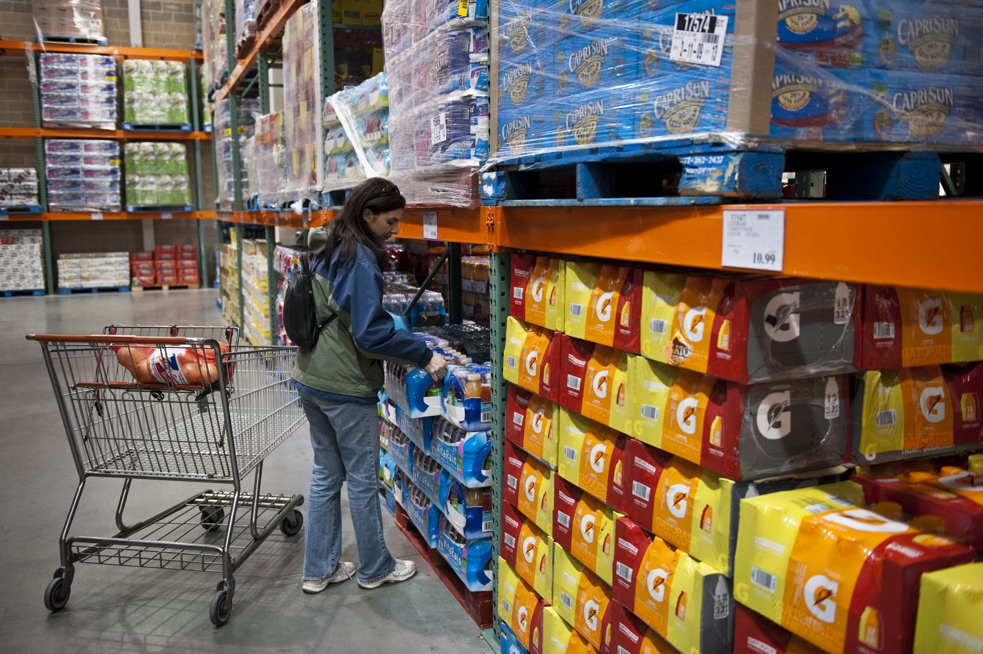 getty costco drinks image