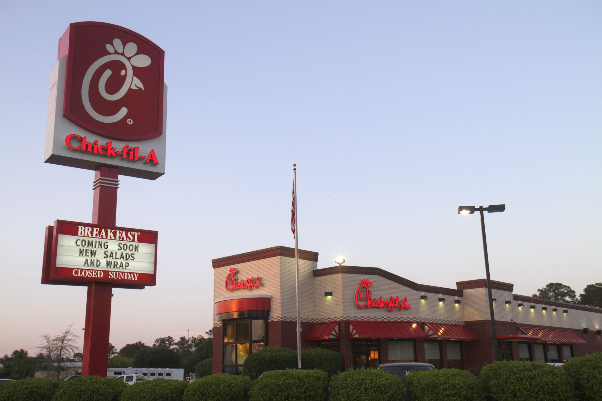 This Is the Busiest Time to Visit Chick-fil-A