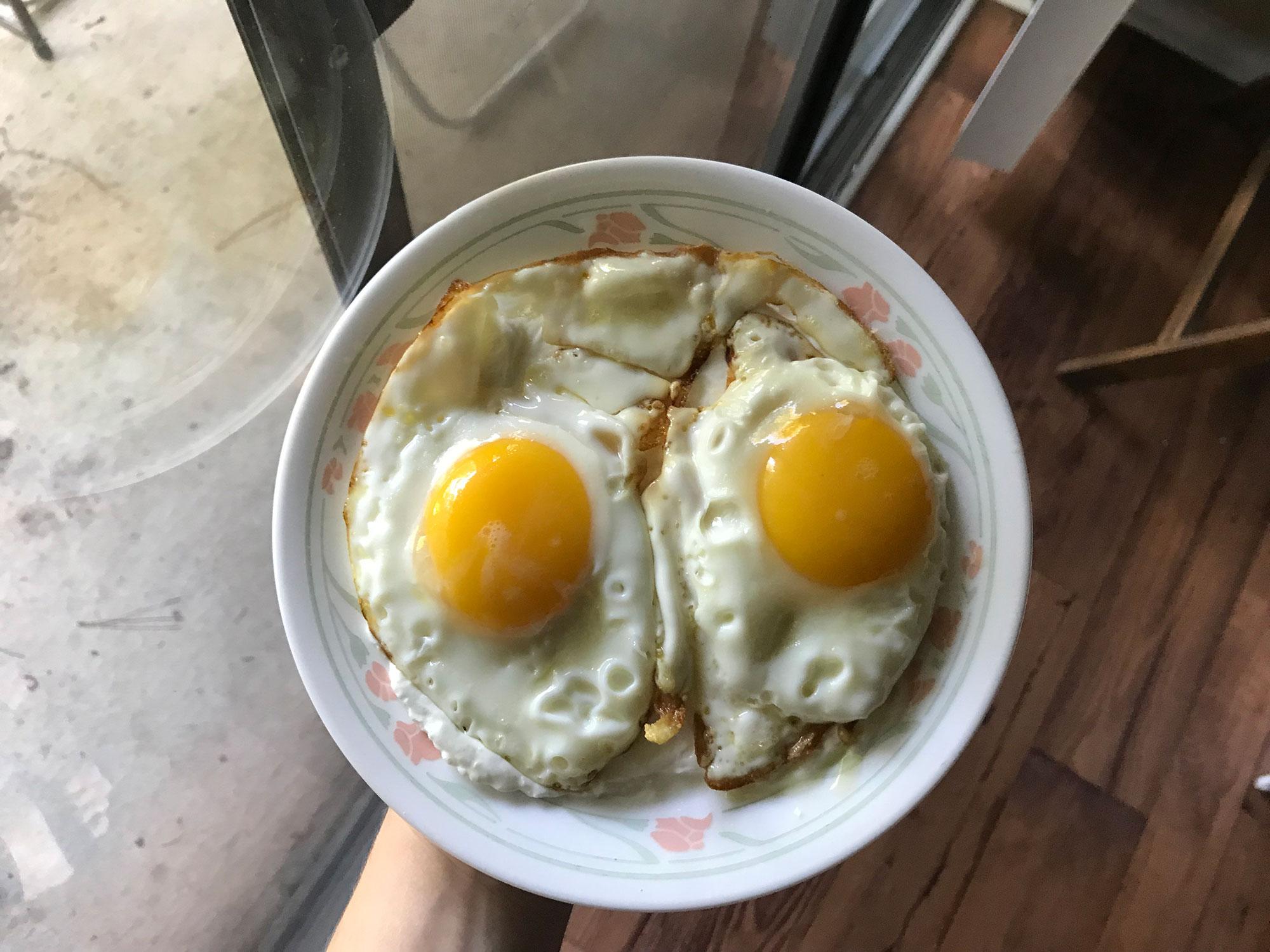 Eggs and Yogurt