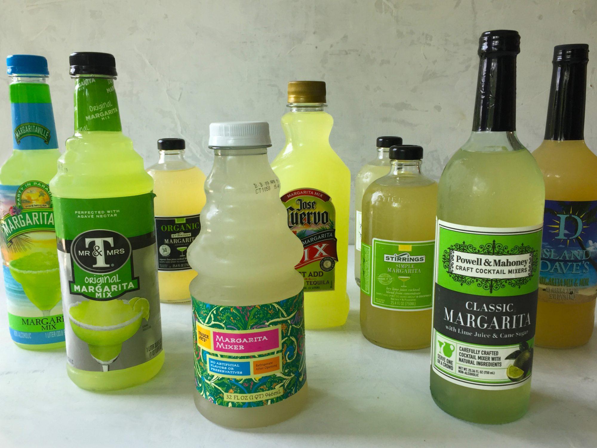 Margarita Mix Taste Test