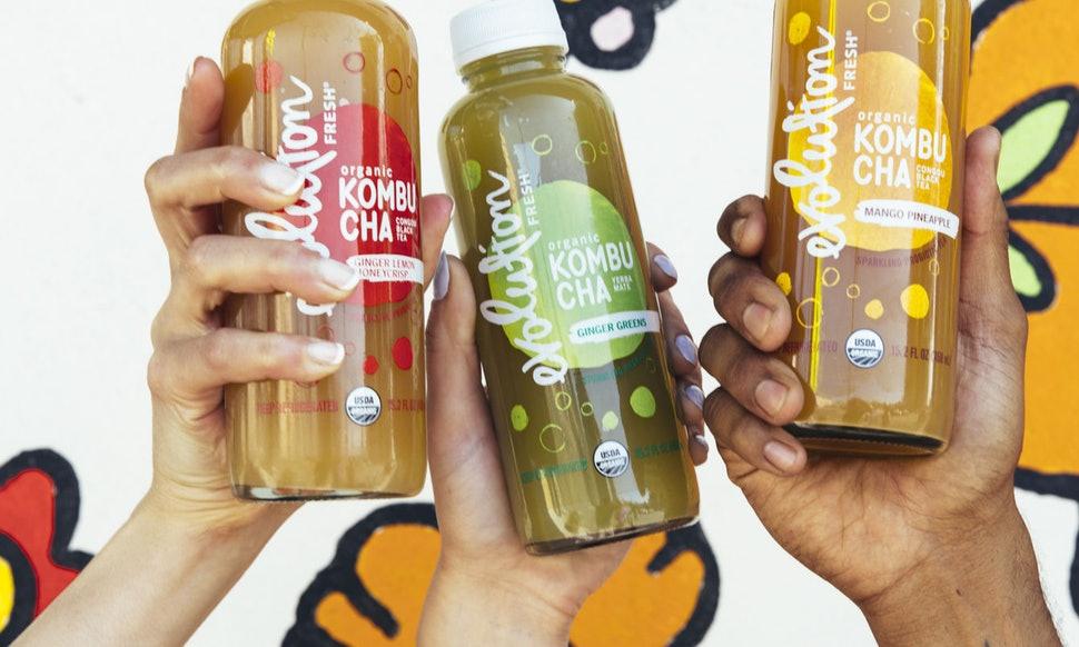 Starbucks Launches Kombucha Under Its 'Evolution Fresh' Label