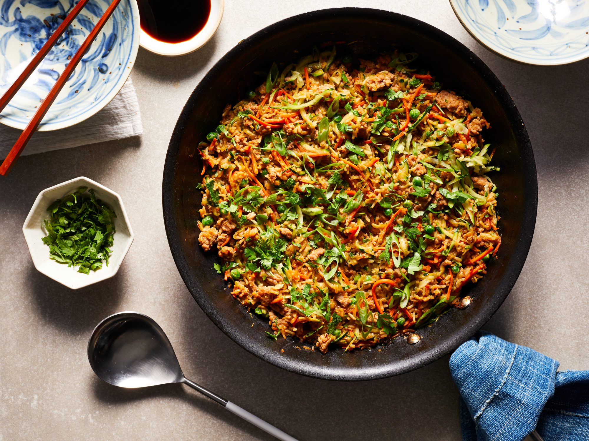 Zucchini Fried Rice image