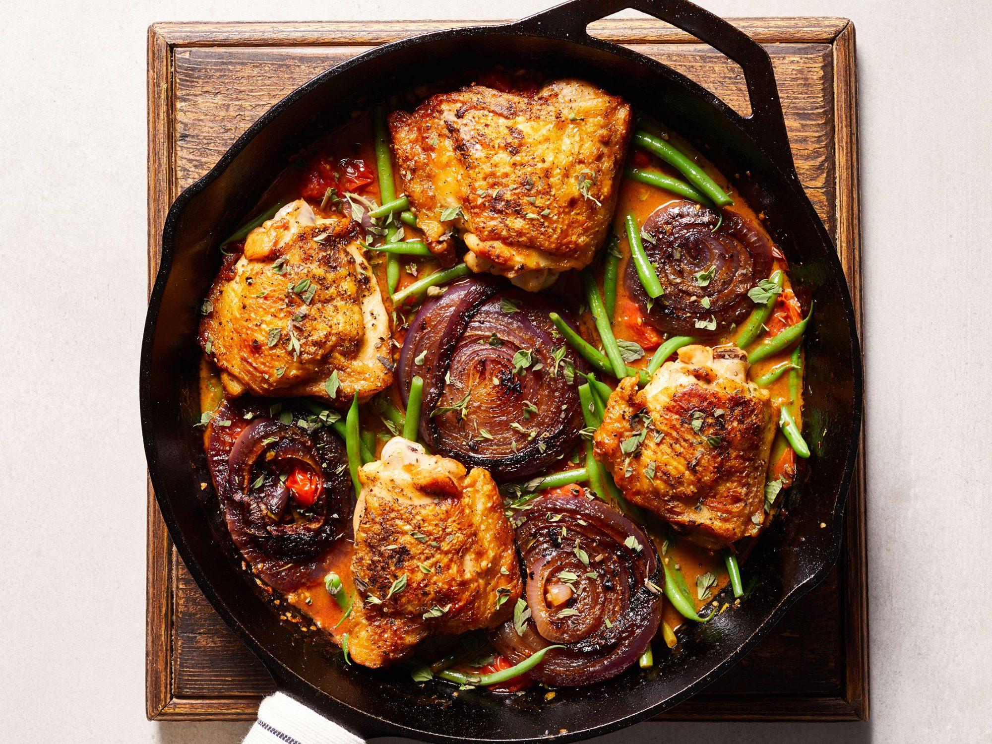 Mediterranean Chicken Skillet