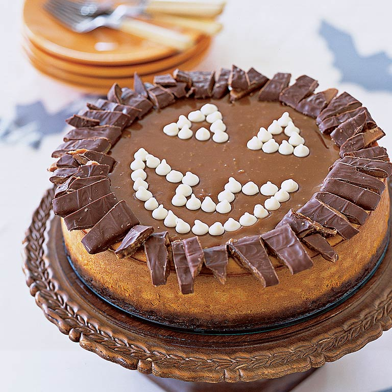 Pumpkin Toffee Crunch Cheesecake
