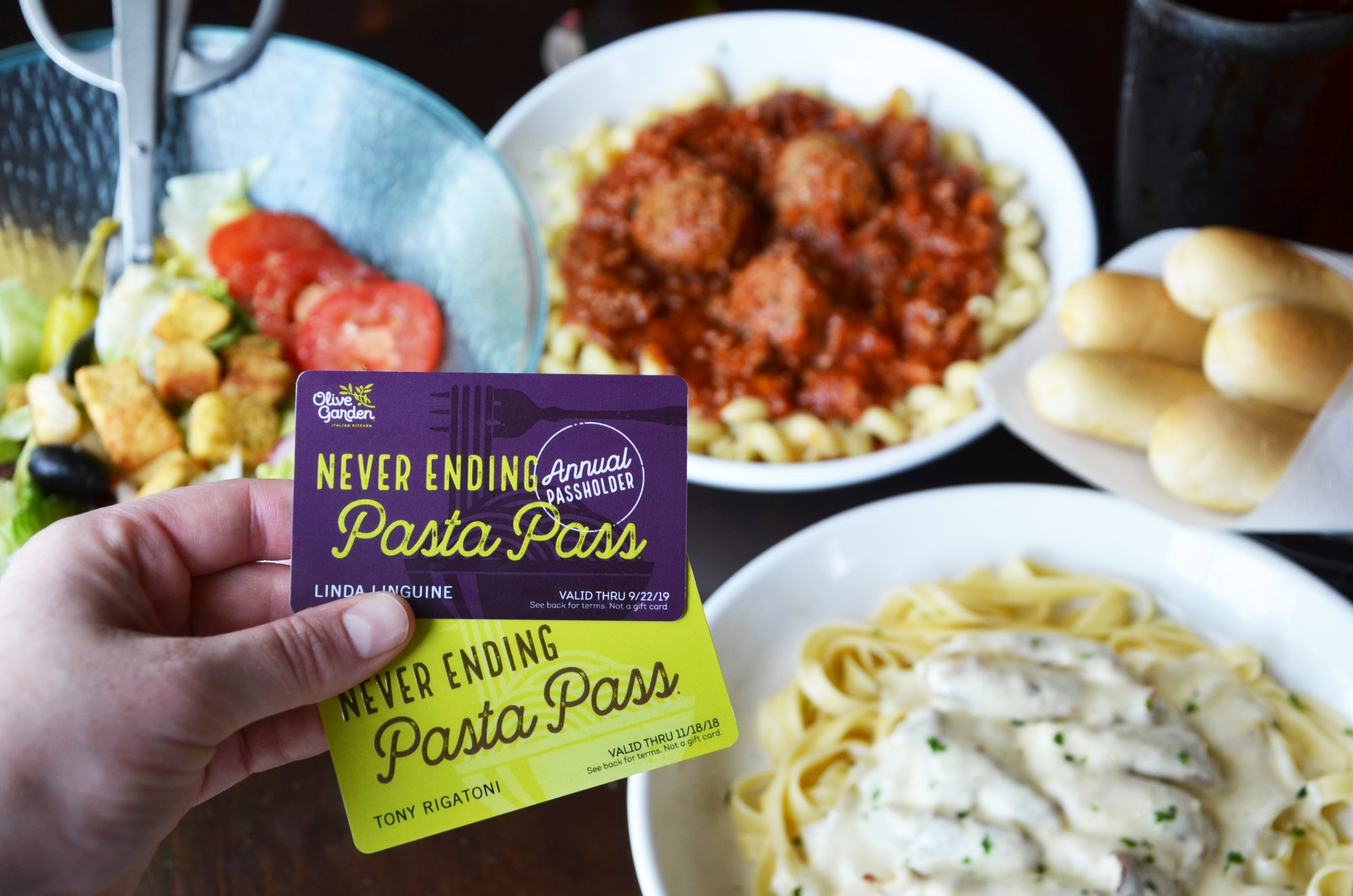 Olive Garden Has Upgraded Their Never Ending Pasta Pass in an Extreme Way