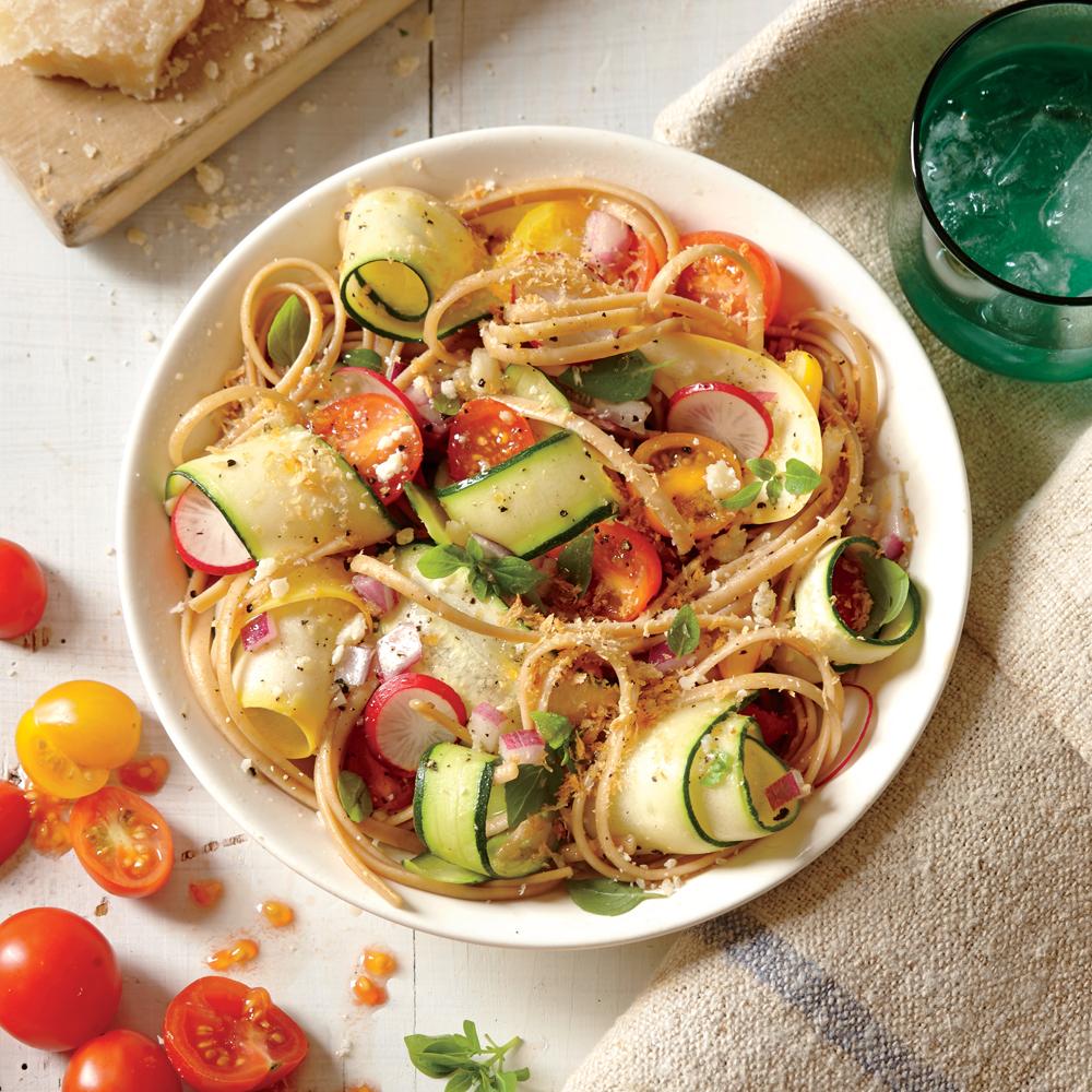 Summer Veggie Pasta Recipe Myrecipes