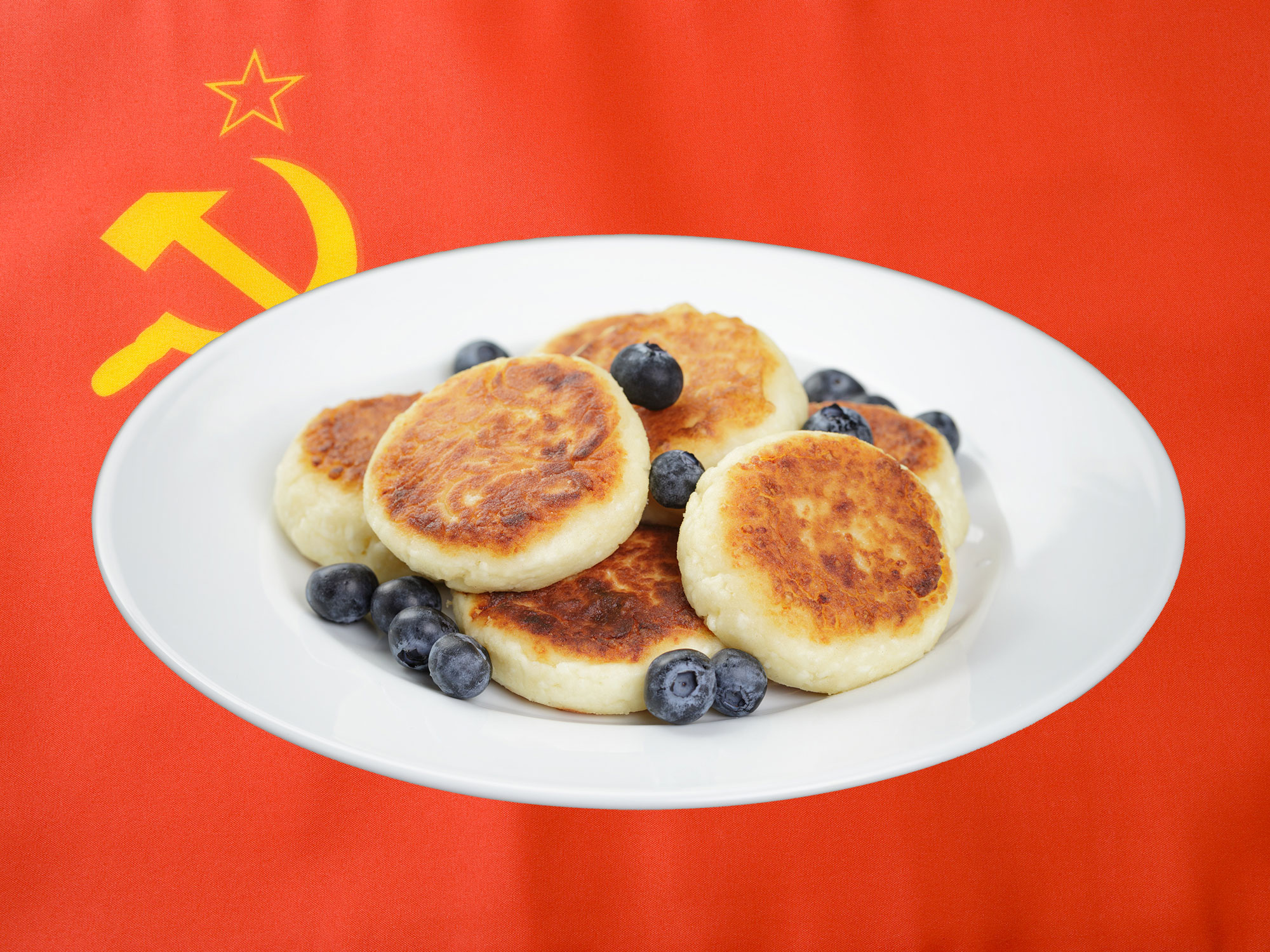 How Fried Cheese Pancakes Built the USSR