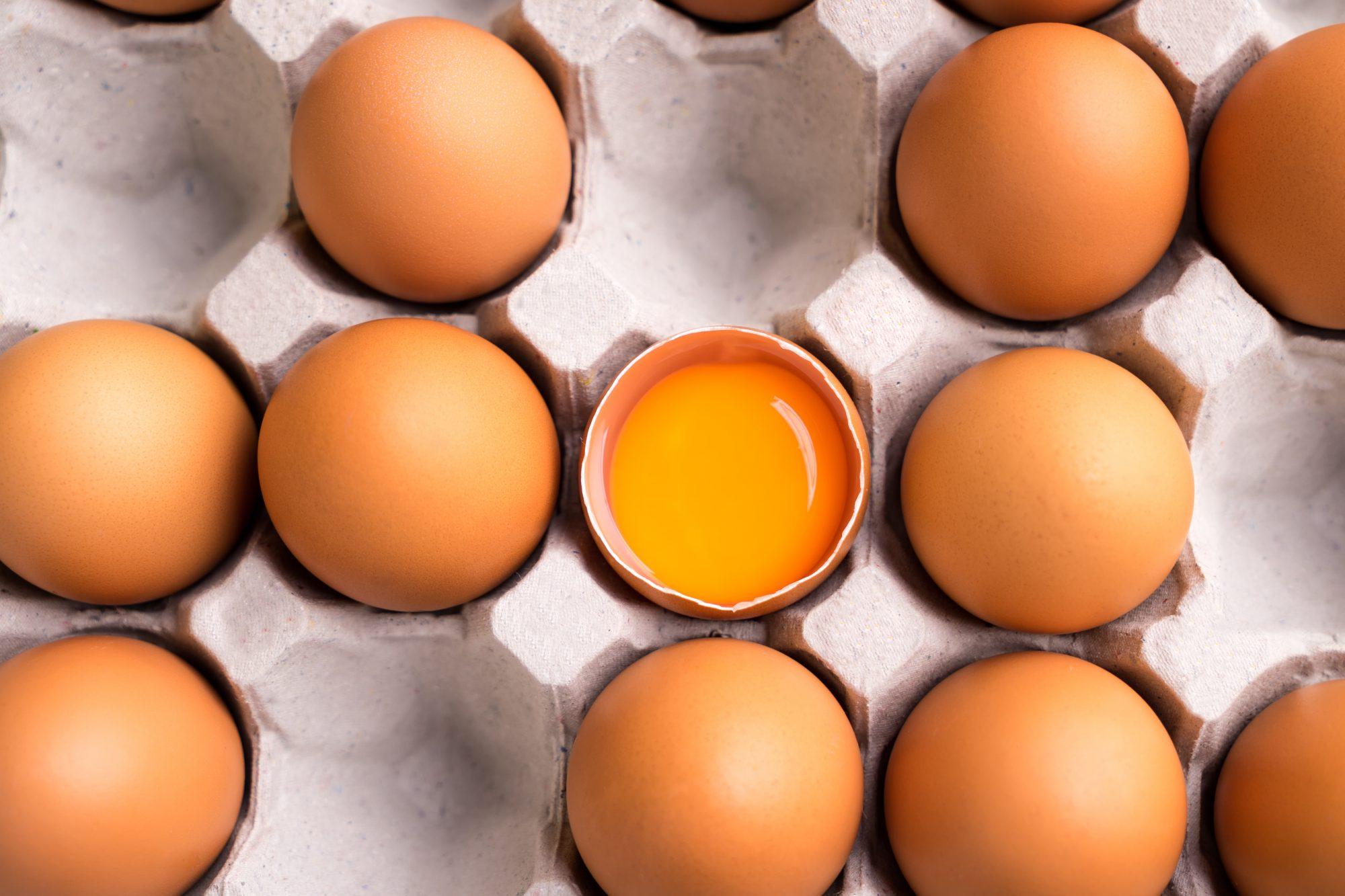 getty orange yolk image