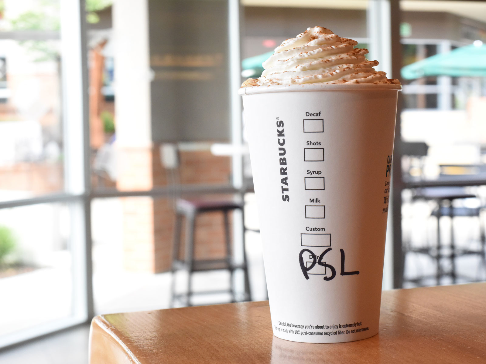 Starbucks Pumpkin Spice Lattes Could Return Earlier Than Ever This Year