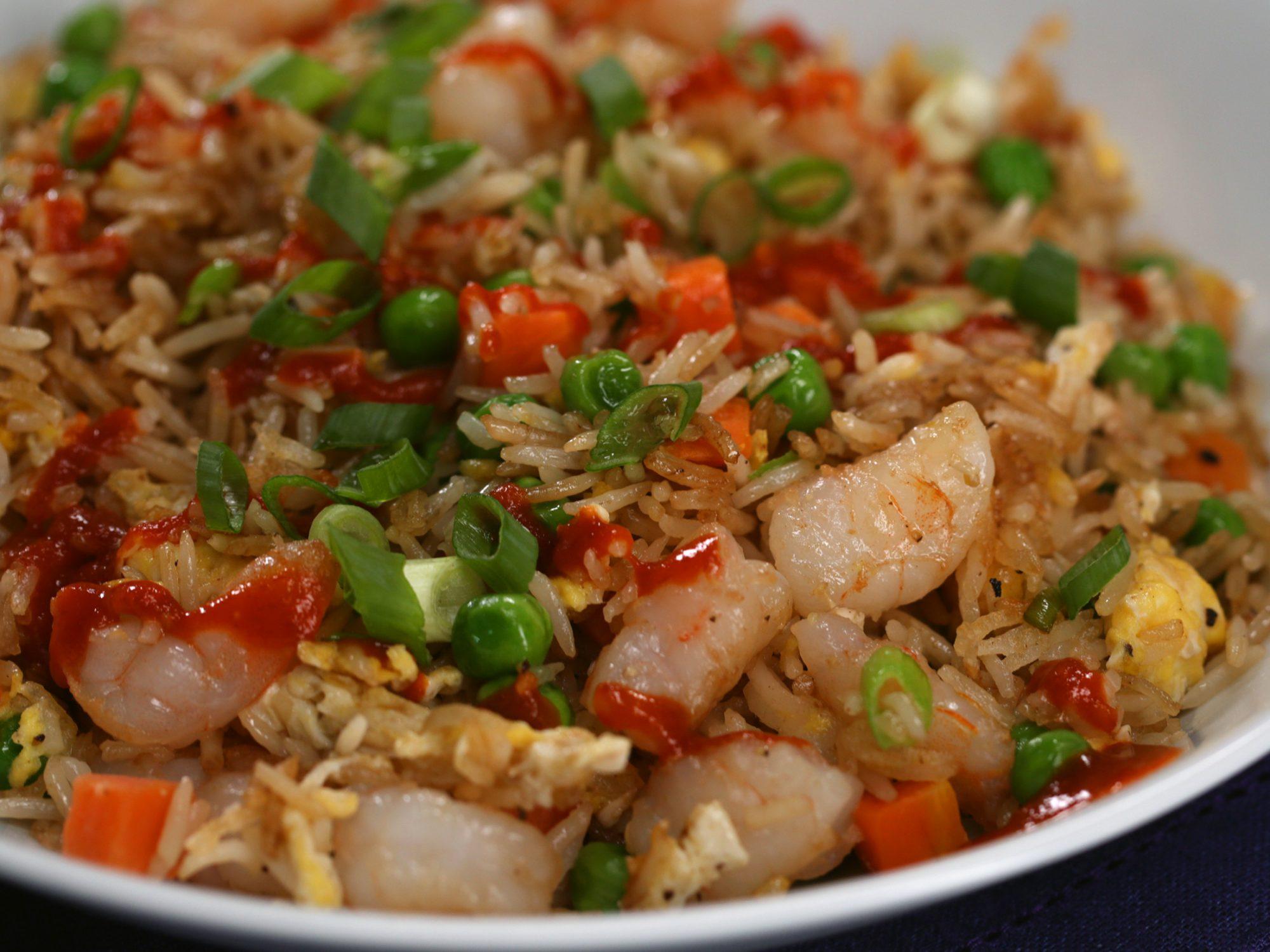 Single Serving Shrimp Fried Rice image
