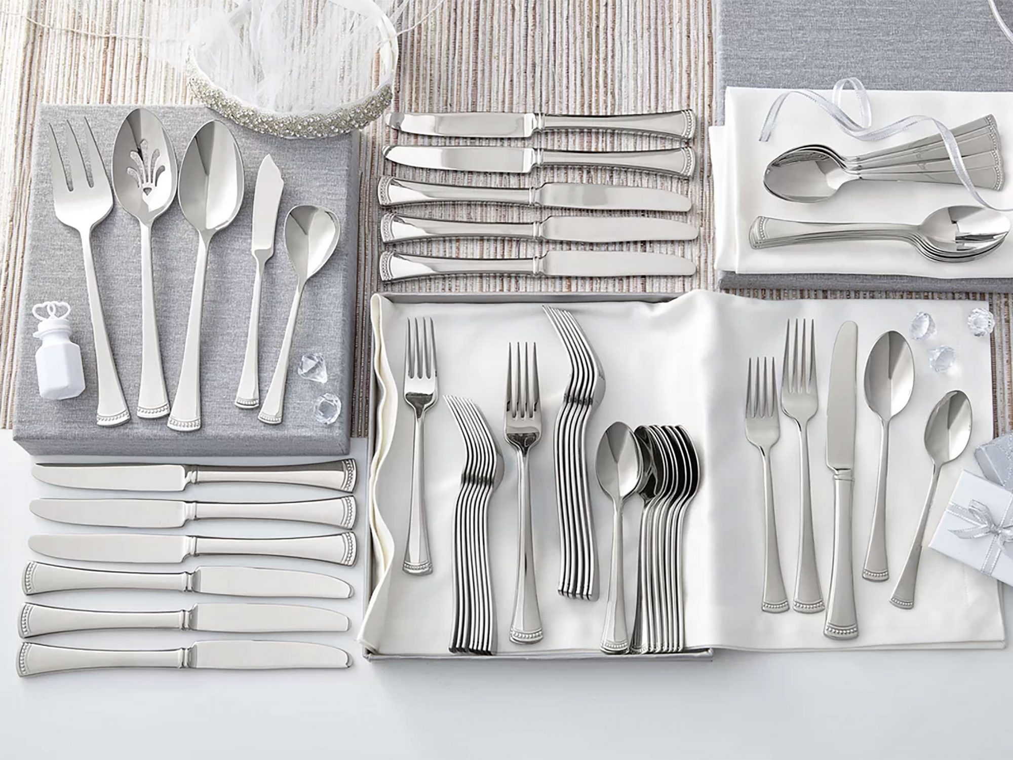 Portola 65-Piece Flatware Set