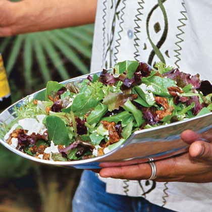 Lanny's Salad With Candied Pumpkin Seeds