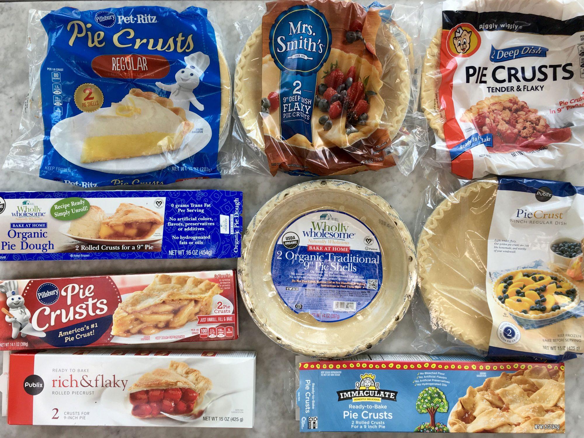 Pie Dough Taste Test