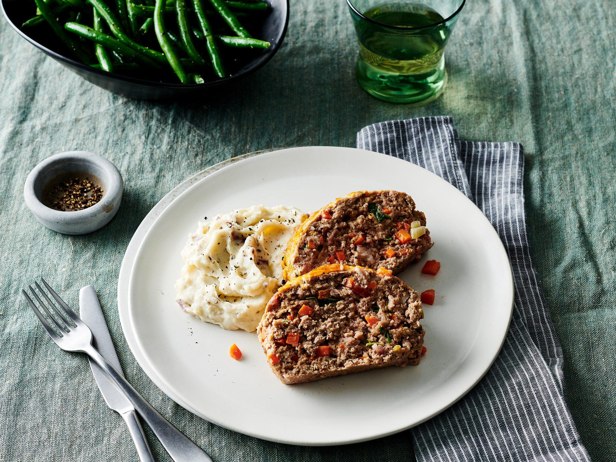 Turkey-Bacon-Cheddar Meatloaf image