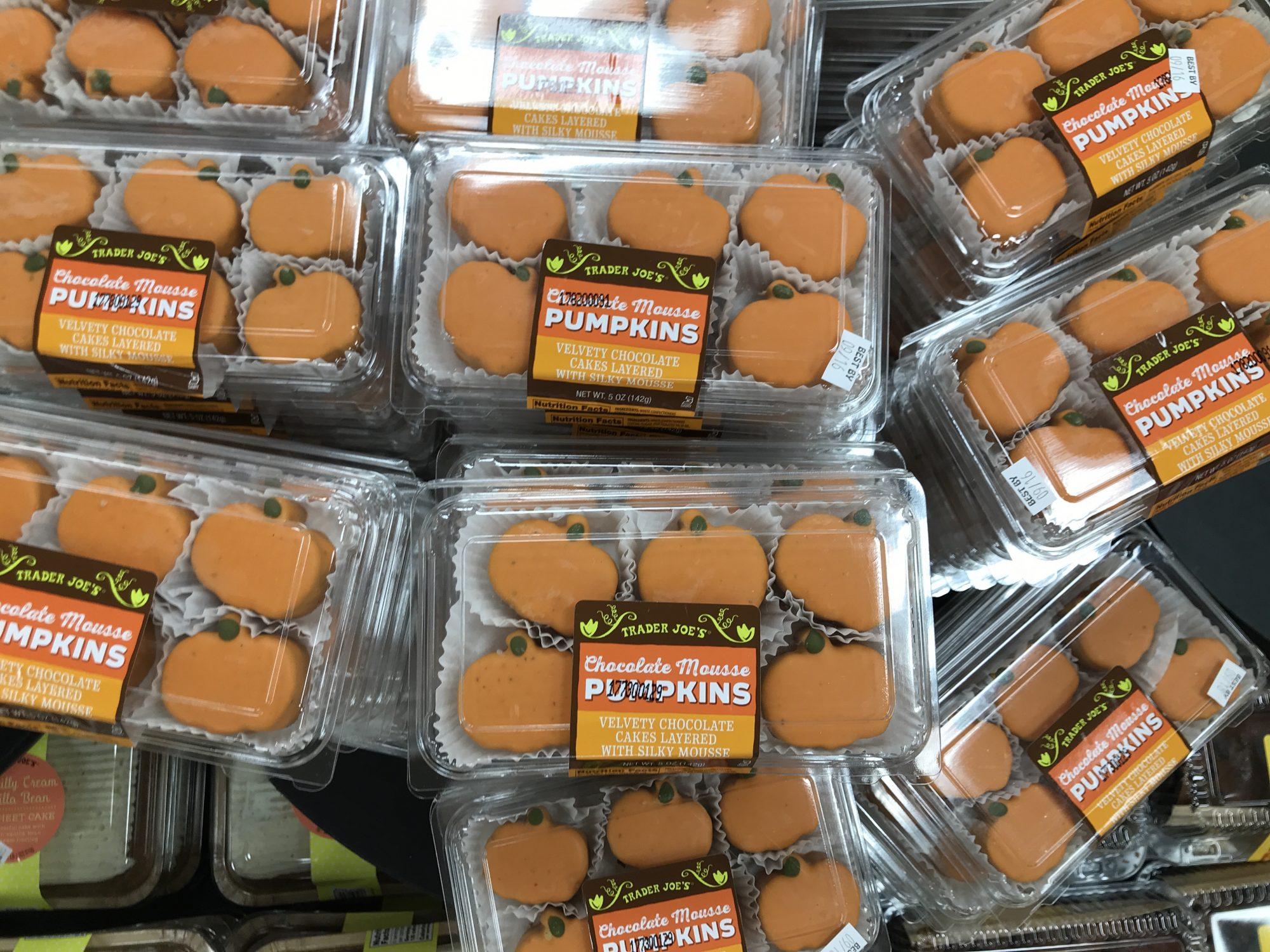 TJ's Chocolate Mouse Pumpkins