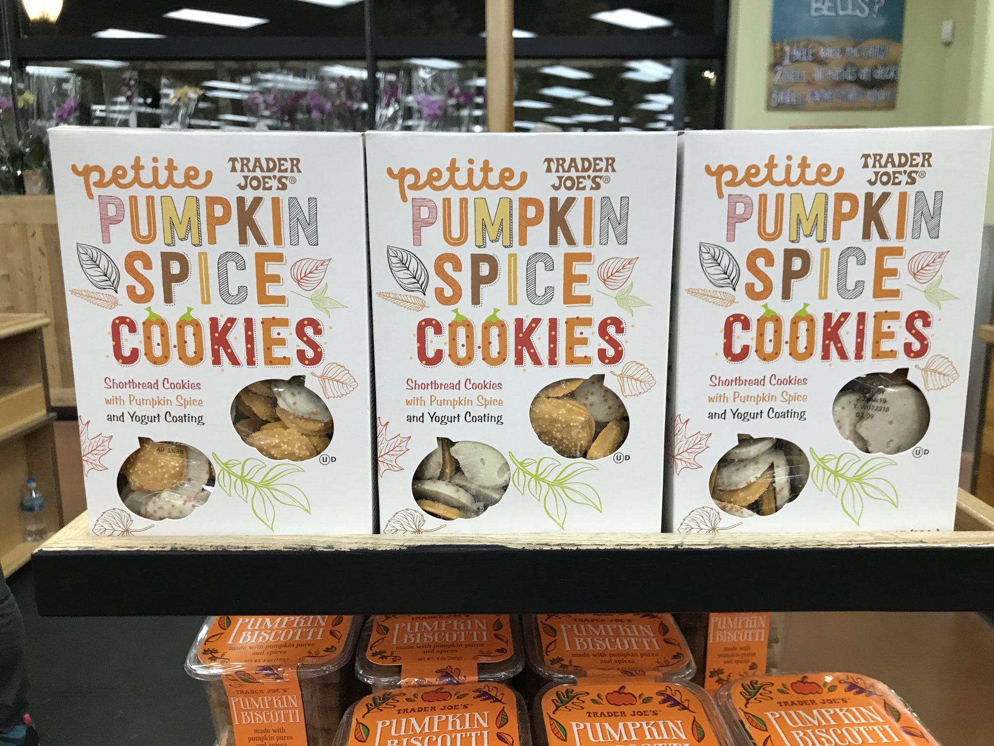TJ's Pumpkin Spice Cookies