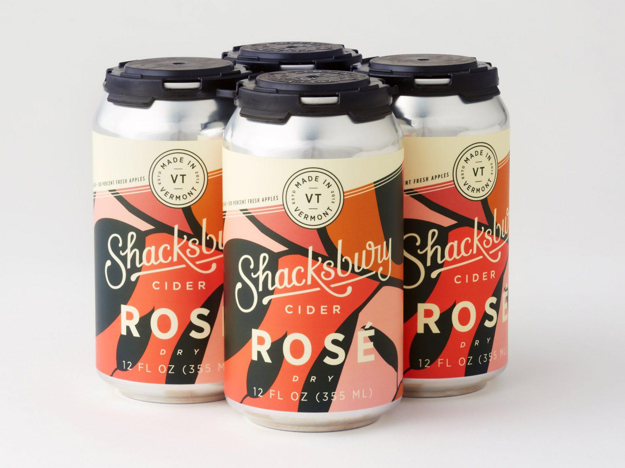 Shacksbury Dry Rosé Cider