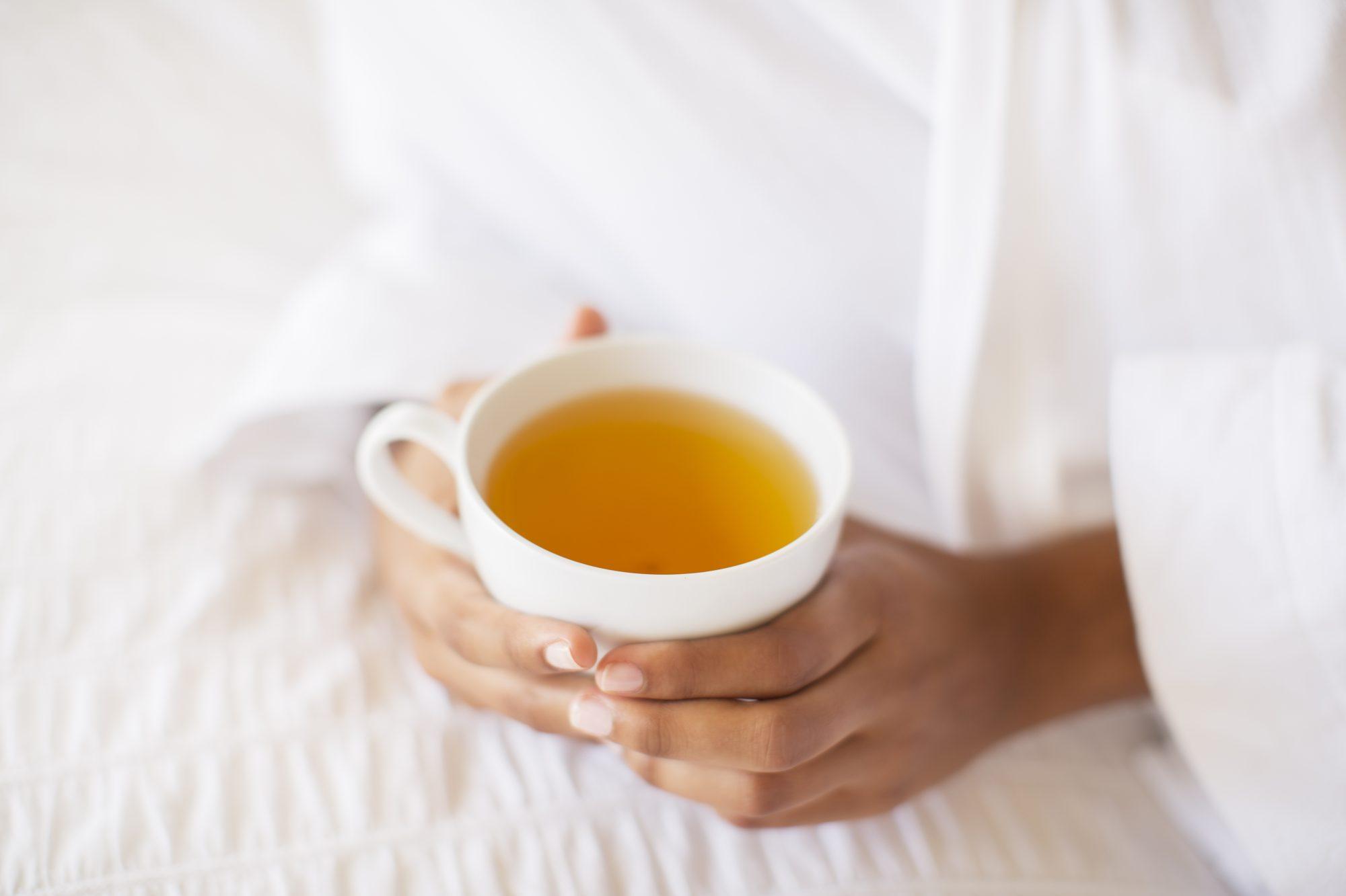 healing herbal tea image