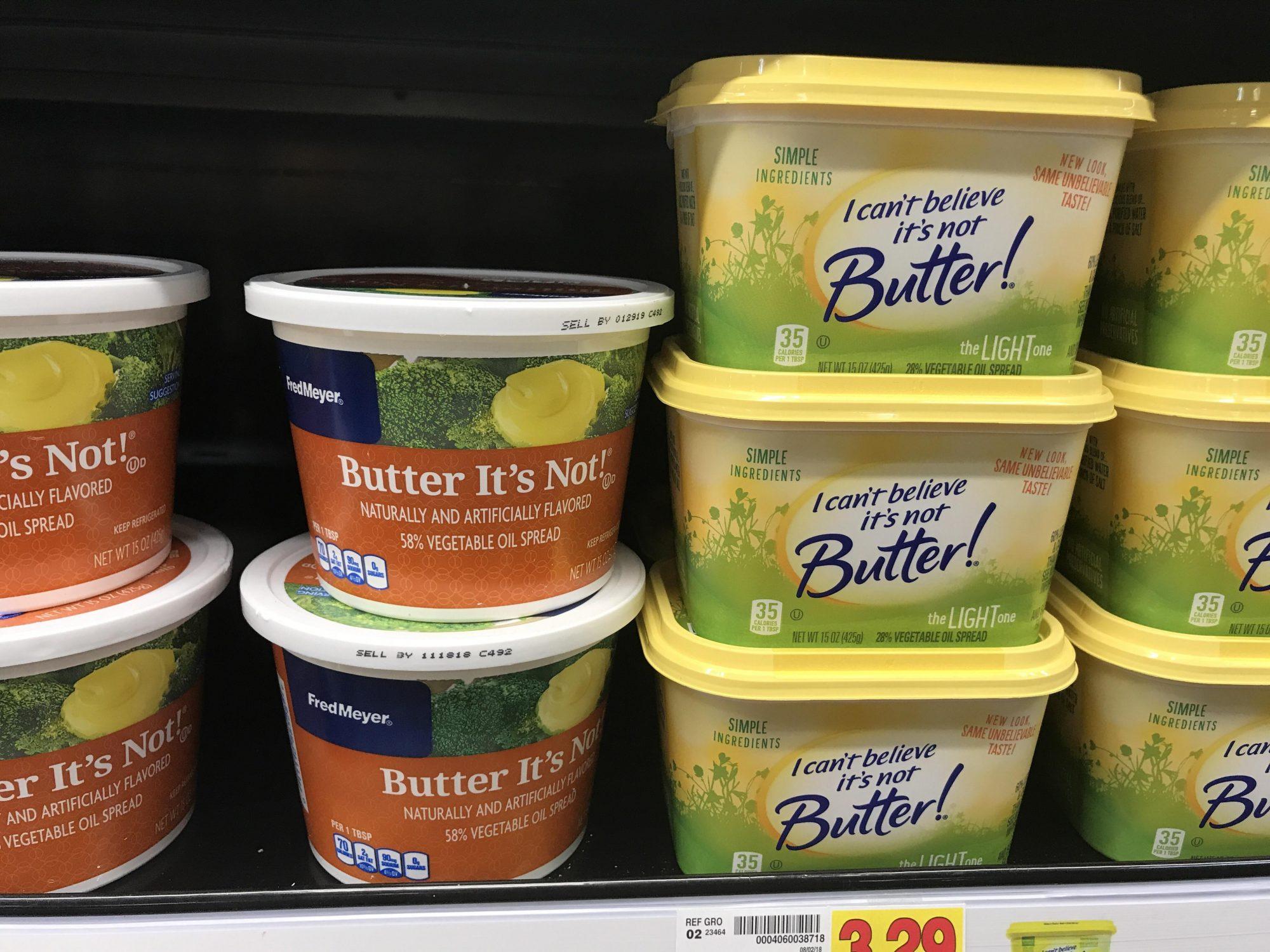 Butter It's Not