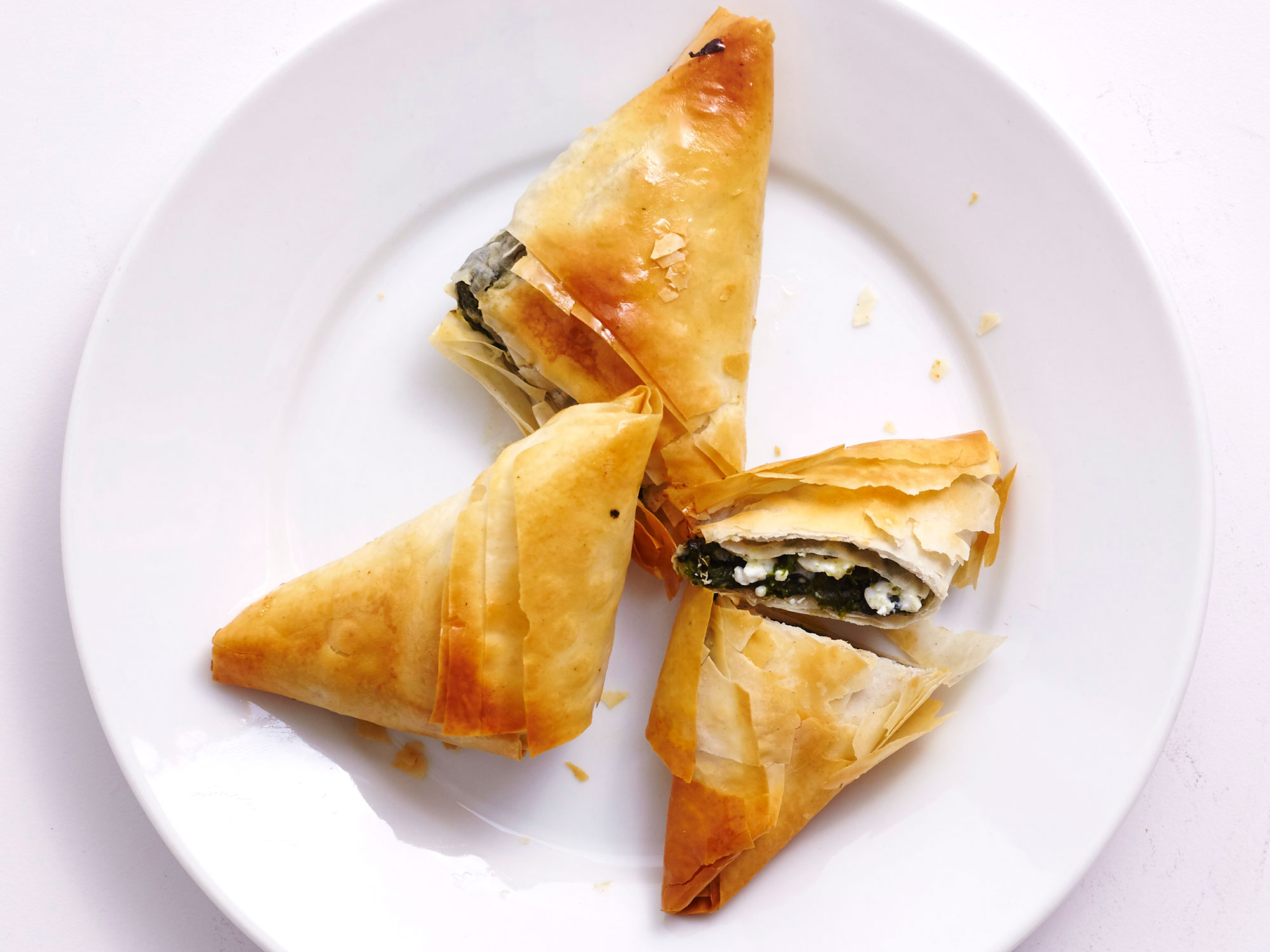 For A Healthy Appetizer Make Air Fryer Spanakopita Bites Recipe Cooking Light