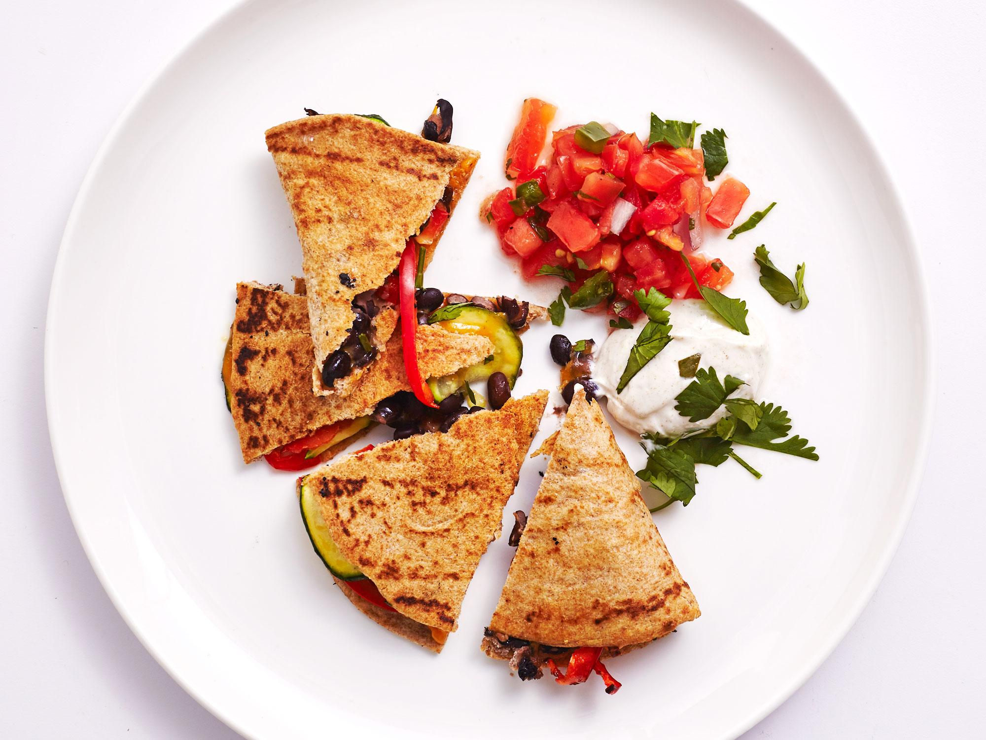 Air Fryer Veggie Quesadillas