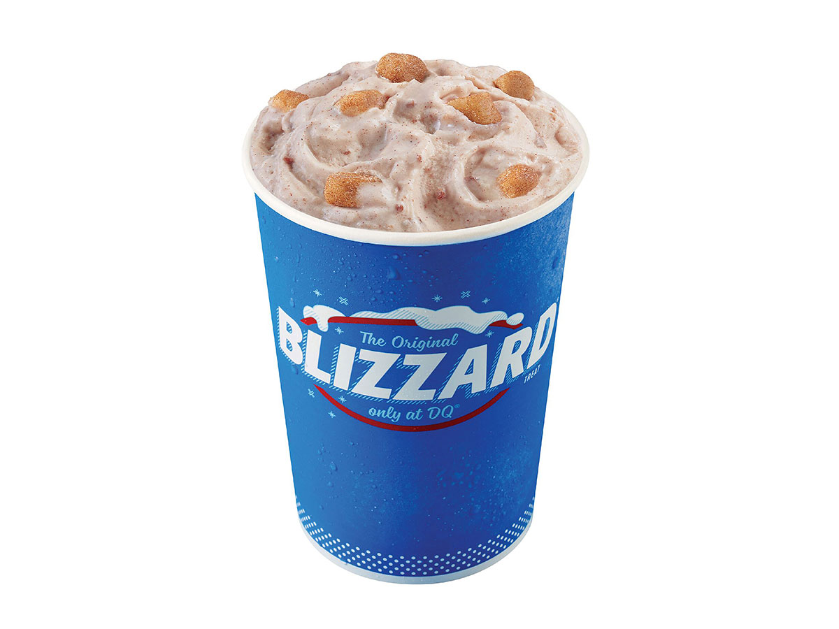 DQ Snickerdoodle Blizzard