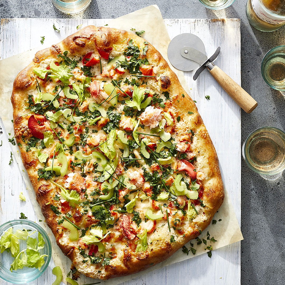 Lobster Roll Pizza