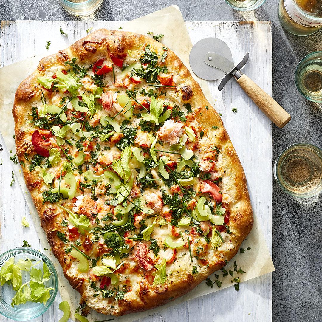 Lobster Roll Pizza