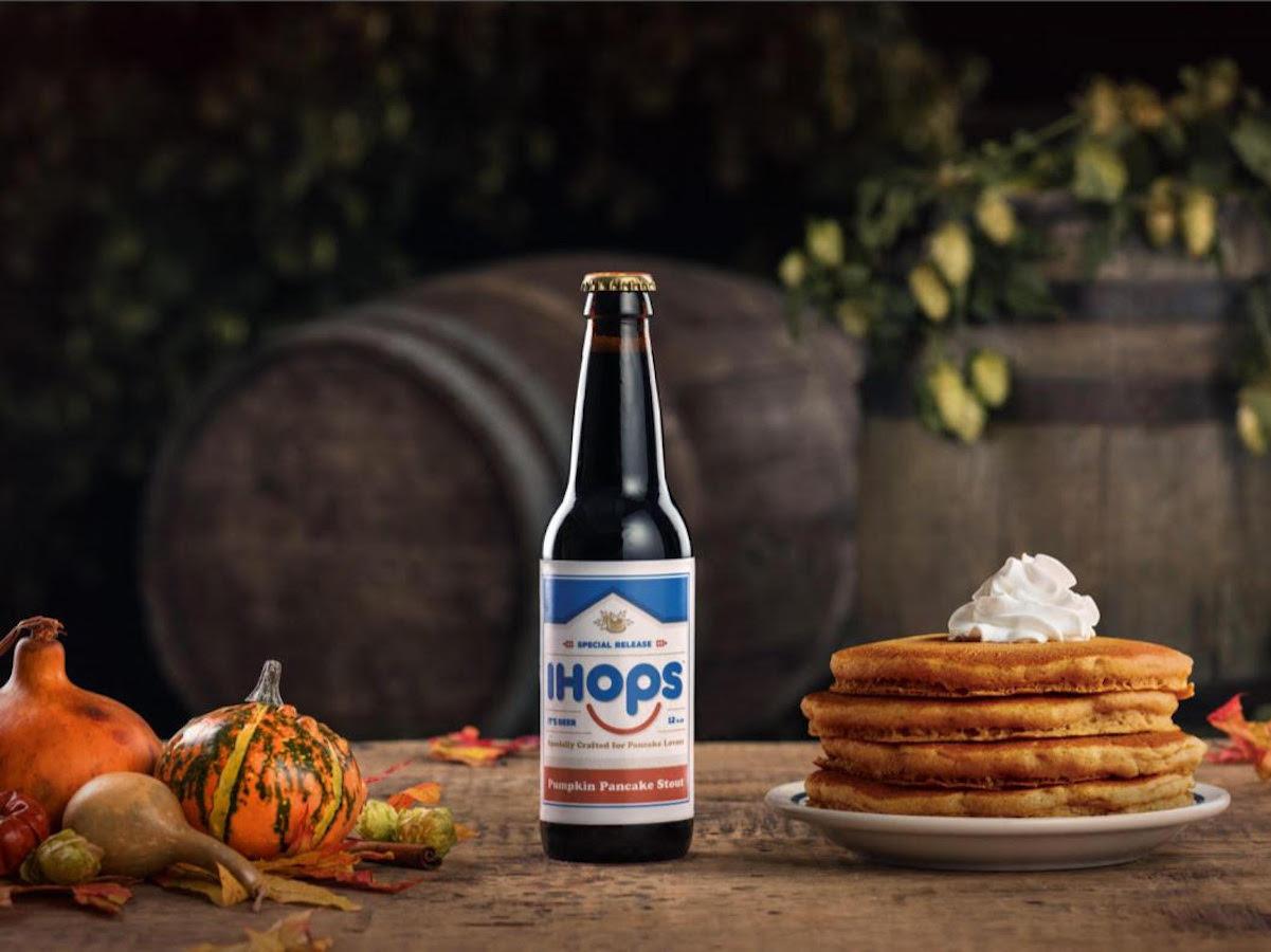 IHOP's Pumpkin Pancake Beer Is Brewed With Actual Pancake Mix
