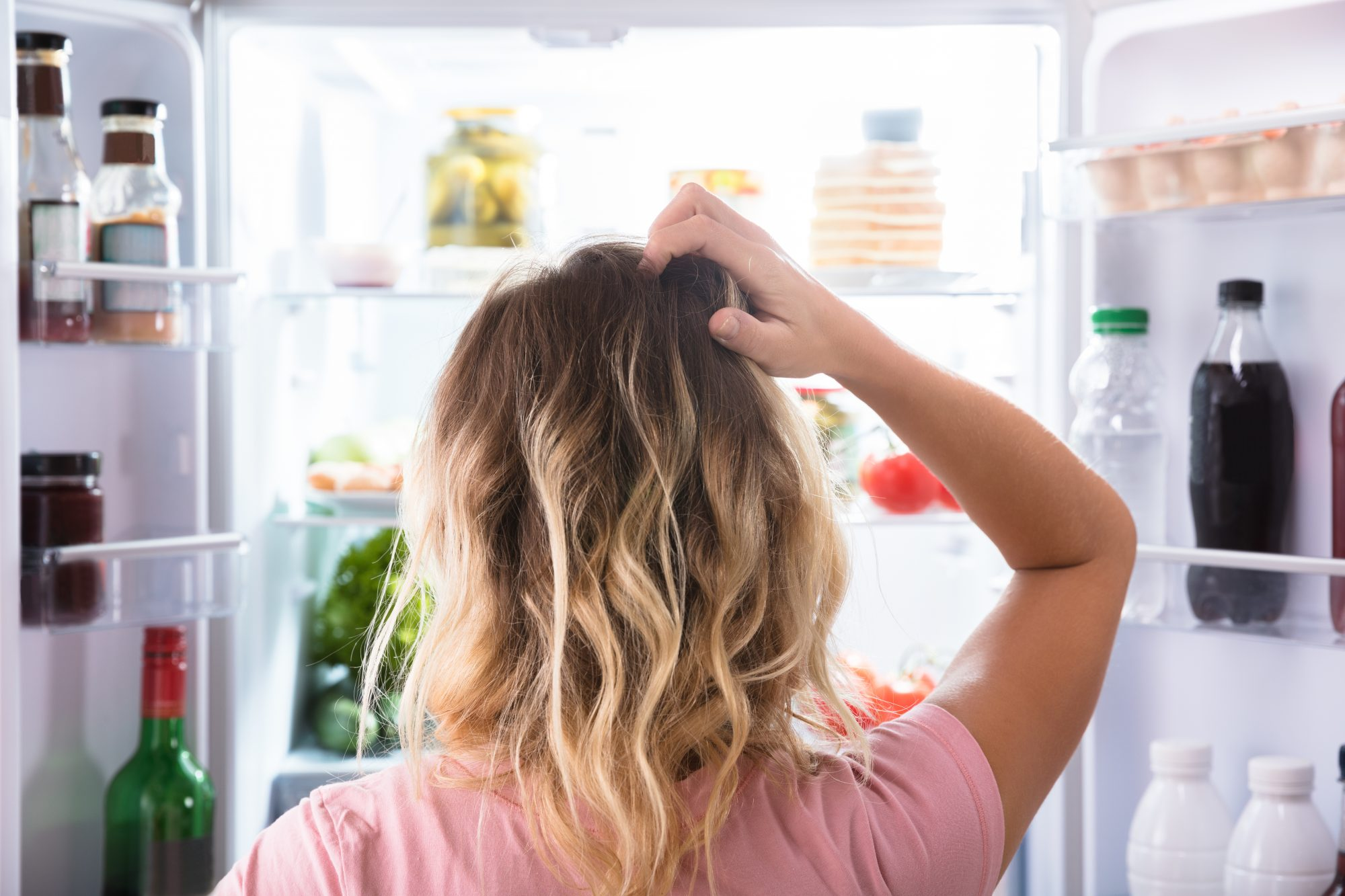 Getty Open Freezer Image